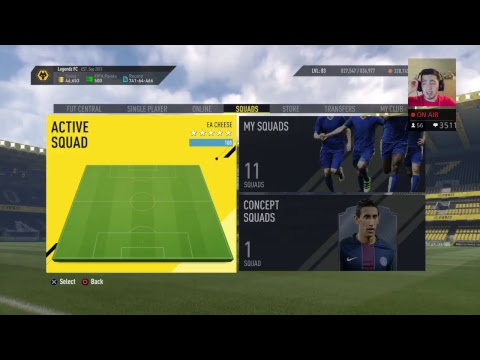 Trying Out TOTS Callejon To See If Hes A Good Starter For You Guys! FIFA 17 Stream