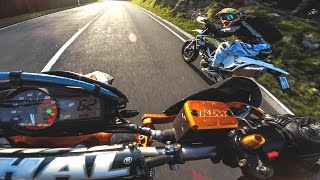 NEED FOR SPEED IN REAL LIFE! // No Engine Racing vs. TRR, SMF and SMC // EXTRASOFSUPERMOTARD