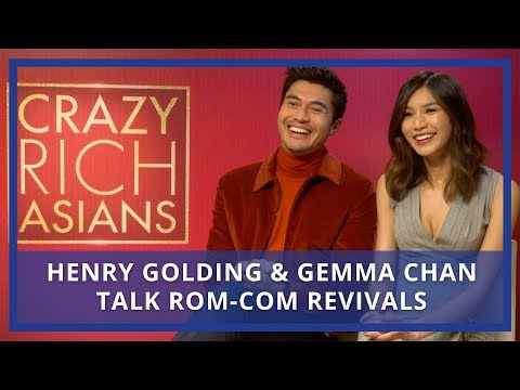 Crazy Rich Asians  Henry Golding & Gemma Chan on Reviving Romcoms