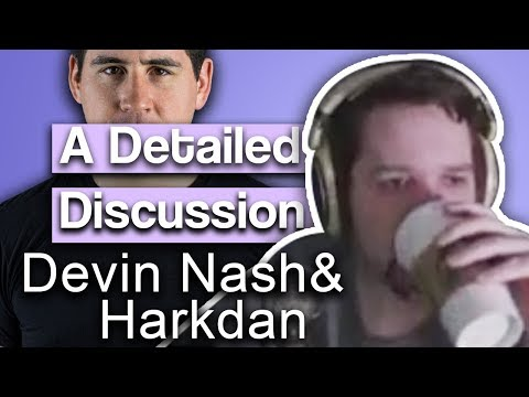 Salads, Twitter, Politics, Russia, Cryptocurrency & More - Discussion with Devin Nash & Harkdan