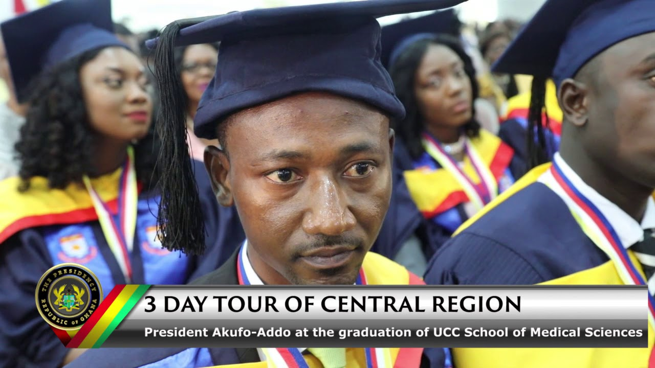 President Akufo-Addo at the Graduation of UCC School of Medial Sciences