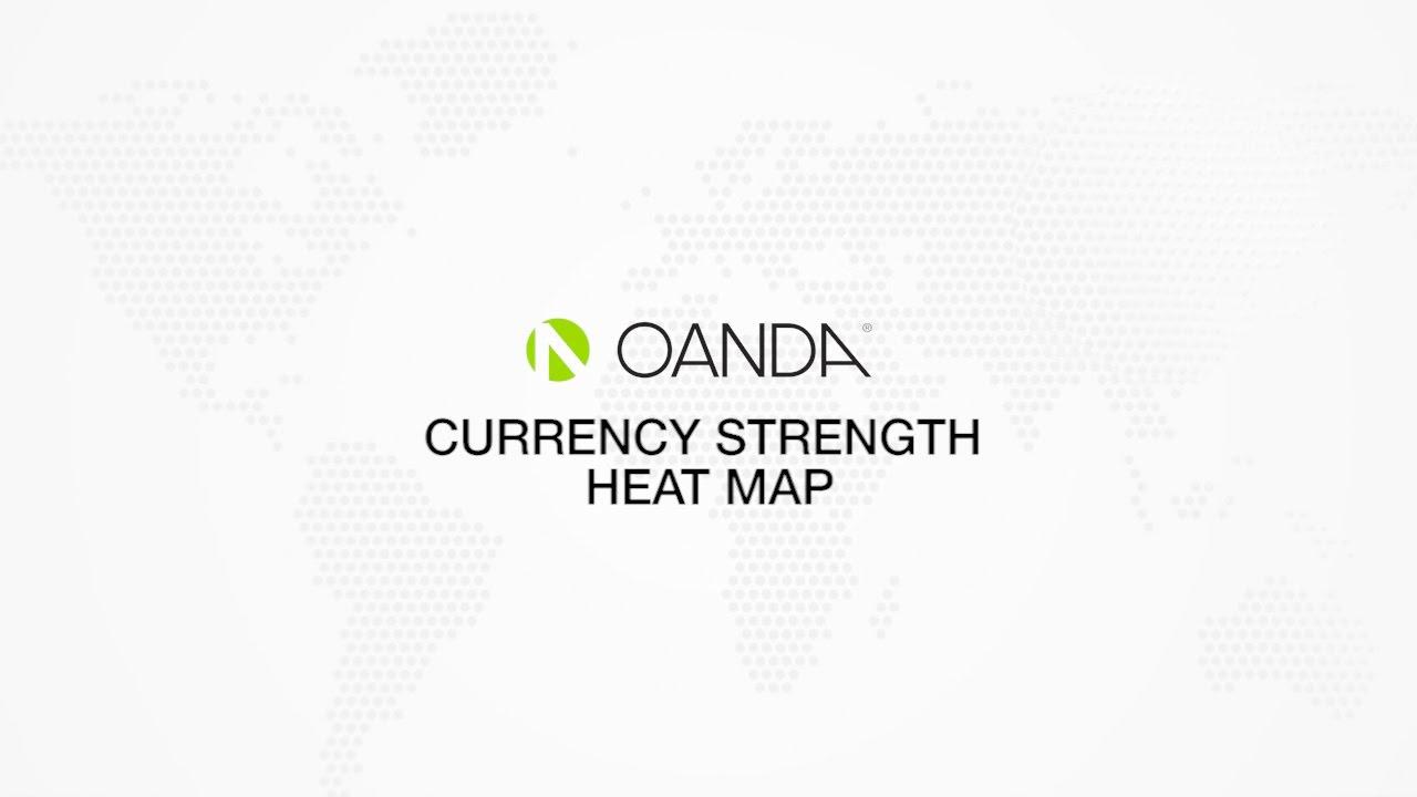 Oanda Currency Strength Heatmap Youtube