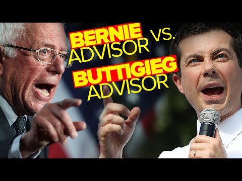 Bernie Advisor Versus Buttigieg Advisor On The Role Of Money In Politics