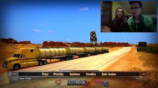 18 Wheels of Steel: Extreme Trucker 2 ☆ Karolina za kierownicą #2 ㋡ Ciężarówką po antypodach !