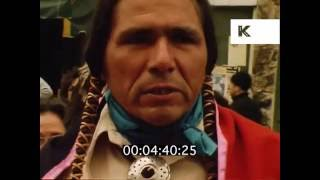 1970s Dennis Banks Interivew, San Francisco, Native American