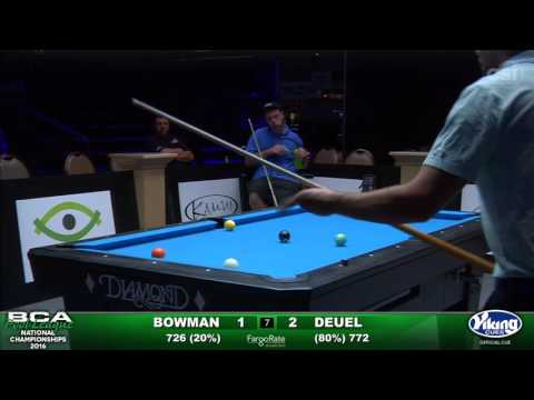 9-Ball Challenge - Bowman vs Deuel
