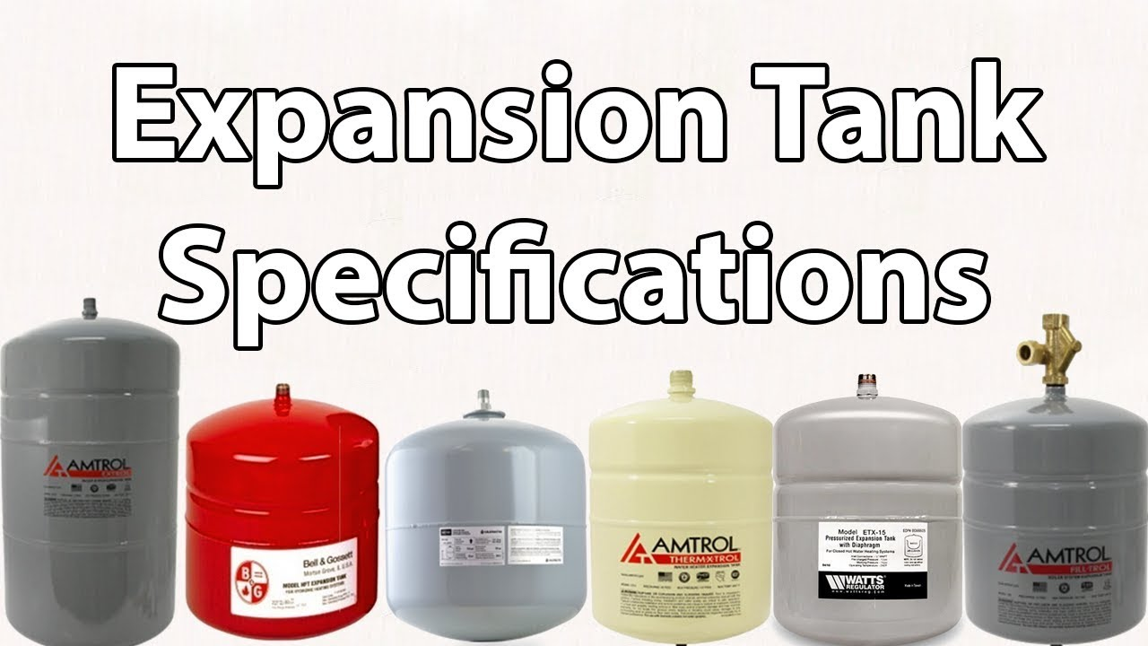 How To Size And Select A Proper Expansion Tank