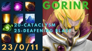 REFRESHER CATACLYSM & AOE DEAFENING BLAST COMBO!Better than Sumiya invoker. Dota 2 7.07 Highlights