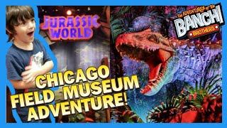Jurassic World Chicago Field Museum Kids Fun Adventure | fgteev hobby kids Brothers play video thumbnail