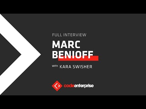 Salesforce CEO and Chairman Marc Benioff | Code Enterprise 2016