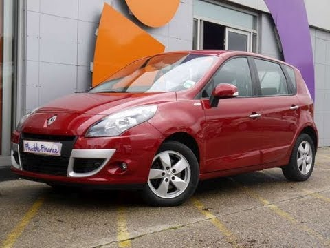 2010 renault scenic dynamique tomtom 106 red for sale in hampshire youtube. Black Bedroom Furniture Sets. Home Design Ideas