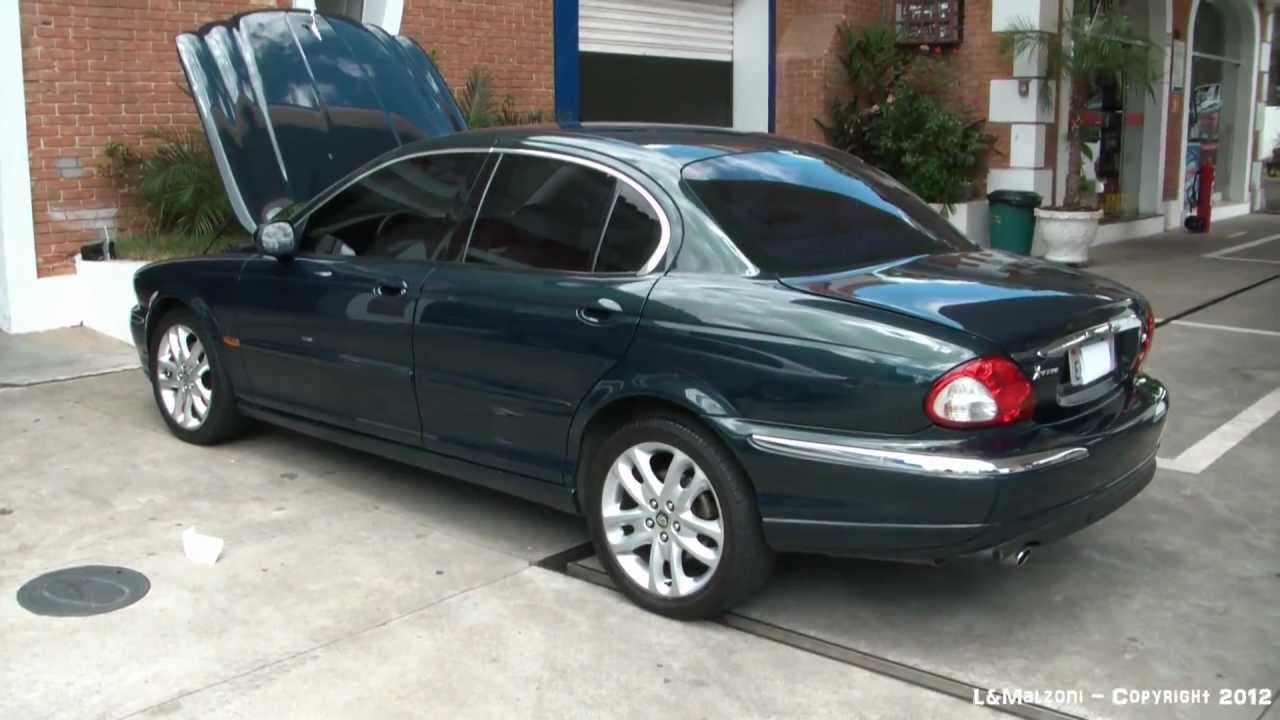 Awesome Vídeo Jaguar X Type 3.0 2002 à Venda   YouTube