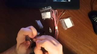замена ламп в подсветке для ног на диоды