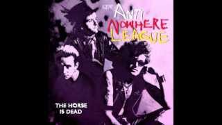 Anti nowhere league (UK) - The Horse is dead LIVE 1996 (full album)