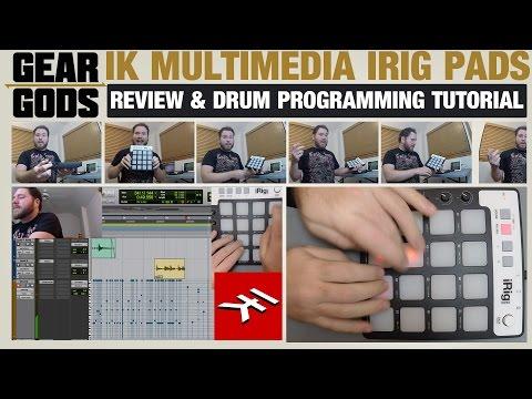 IK Multimedia iRig Pads Review/Drum Programming Tutorial | GEAR GODS