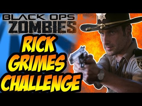 """Buried"" The Rick Grimes Challenge Pt1 (Black Ops 2 Zombies)"