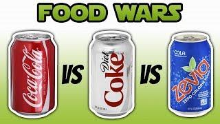Food Wars: Diet Soda vs Regular Soda - Live Lean TV