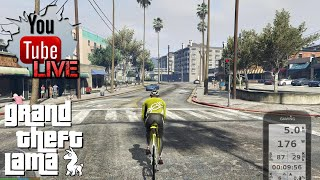 Lama LIVE: Grand Theft Bike V // Riding GTA 5 on a Kickr BIKE // Livestream Q&A