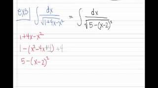 CalcBC_Sect 8.4b (Larson) Trigonometric Substitution