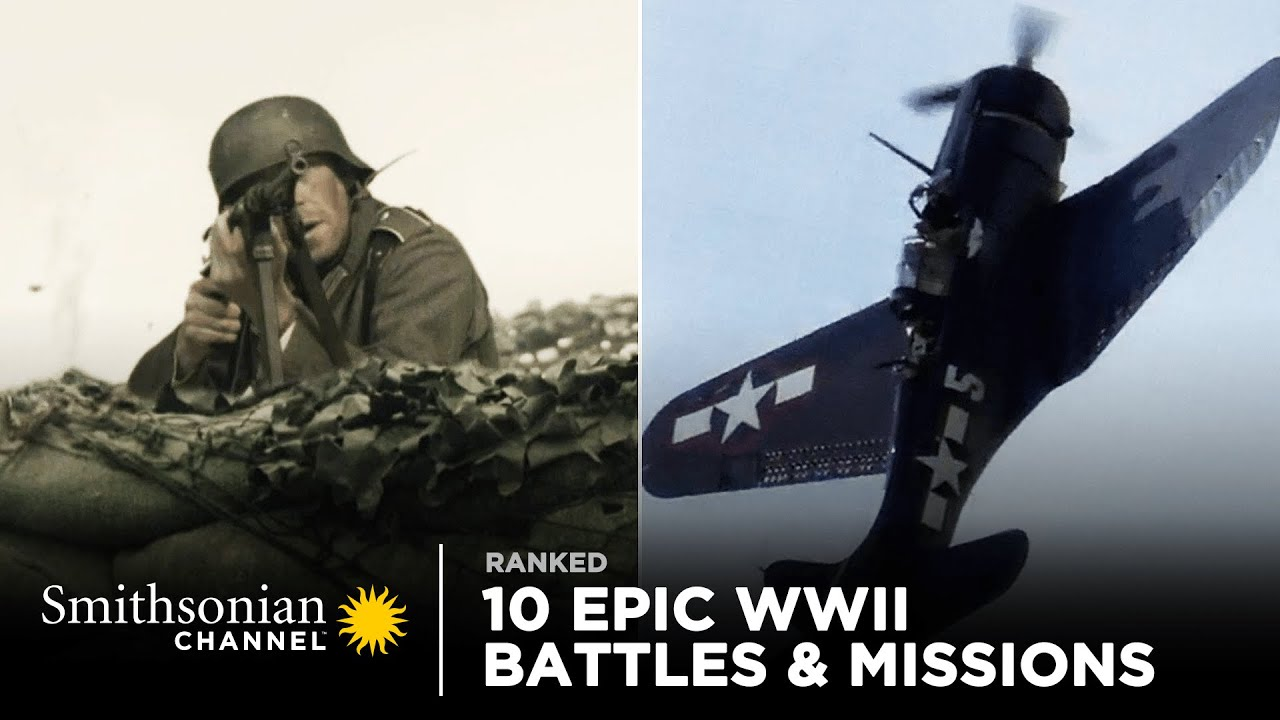 Download 10 Epic WWII Battles & Missions 🪂 Smithsonian Channel