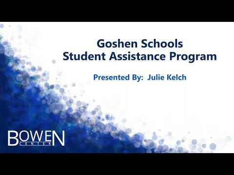 Goshen Schools SAP - Student Assistance Program