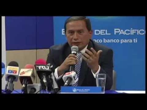 BANCO DEL PACIFICO: Rueda de Prensa IECE QUITO