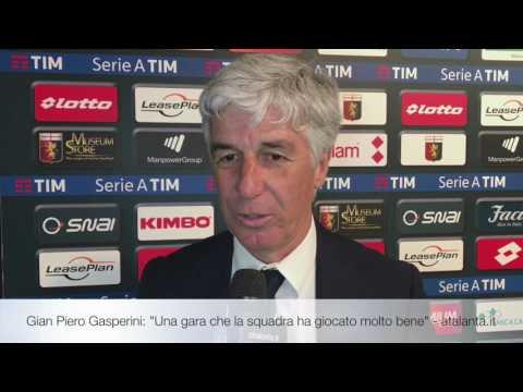 """Gian Piero Gasperini: """"Una gara che la squadra ha giocato molto bene"""""""