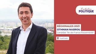 """Entretien politique avec O. Nasrou, candidat """"Ile-de-France Rassemblée"""" aux régionales"""