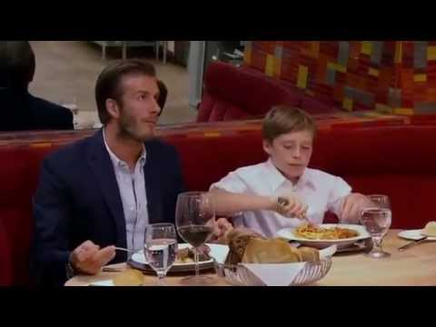 David Beckham and son Brooklyn - Hells Kitchen S10E11