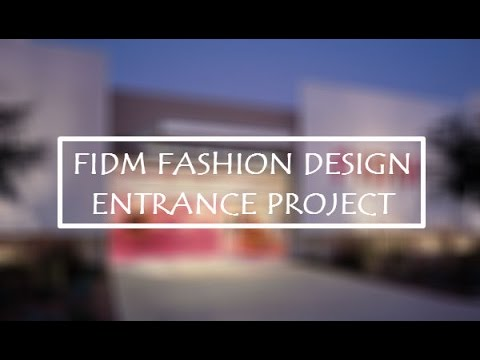 fidm entrance project The fidm museum blog is dedicated to interpreting objects from our museum collection, which is composed of nearly 12,000 dress, accessory and textile objects.