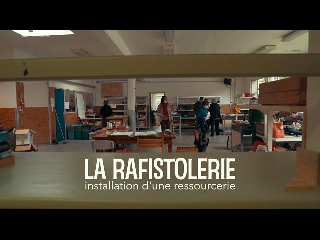 Association La Rafistolerie - Installation d'une Ressourcerie