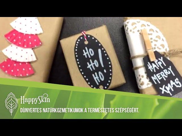 Karácsonyi ajándékcsomag férfiaknak DIY - HappySkin.hu