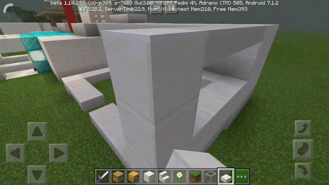 Cara membuat kandang lebah di Minecraft - YouTube