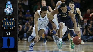 Notre Dame vs. Duke ACC Basketball Tournament Highlights (2018)