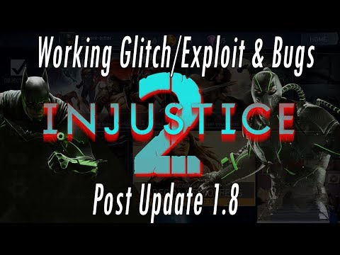 Working Glitch / Exploit & Bugs Post Update 1.8! Timer Glitch & Arena & Audio Bug Injustice 2 Mobile