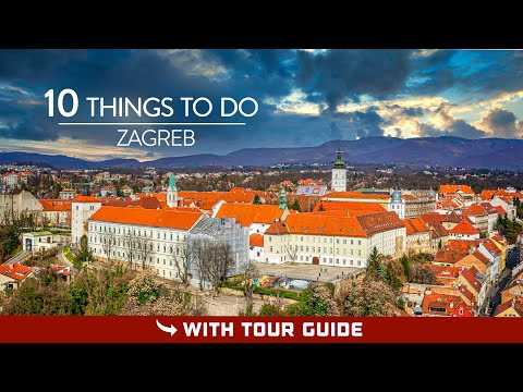 Zagreb Attractions (TOP 10) | Travel Guide (2020)