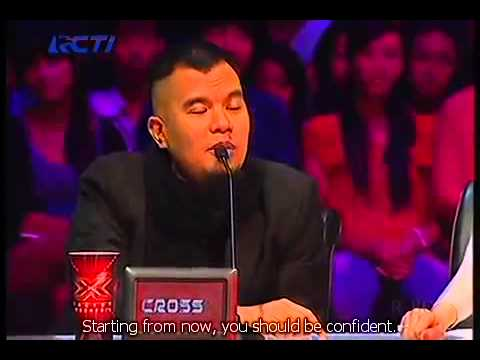 Fatin shidqia lubis+Grenade+English hard subtitle+lyric+X Factor Indonesia 2013