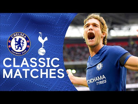 Tottenham 1-2 Chelsea |  Marcos Alonso's double extends Tottenham Wembley's problems |  Classic highlights