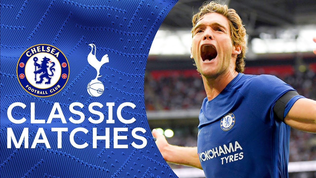 Tottenham 1-2 Chelsea | Marcos Alonso Double Extends Tottenham Wembley Woes | Classic Highlights