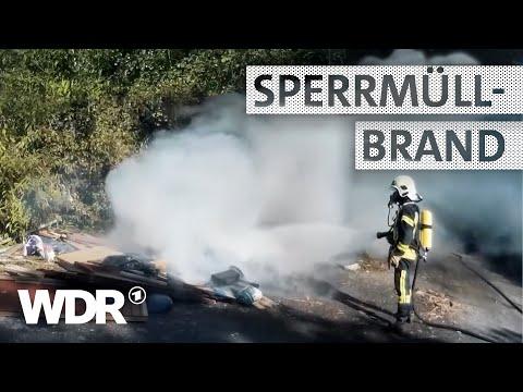 Feuer & Flamme | Sperrmüllbrand | WDR