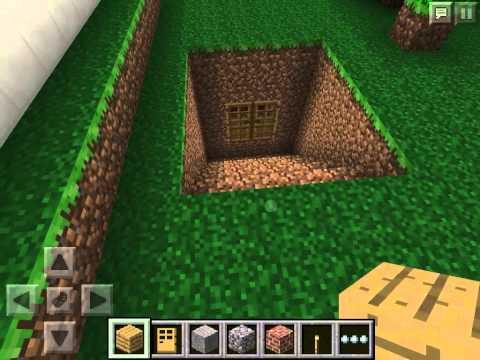 видео: Как построить секретную комнату в игре Minecraft Pocket Edition