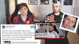 Reaktionen auf mein Video   MarcelScorpion & ViscaBarca