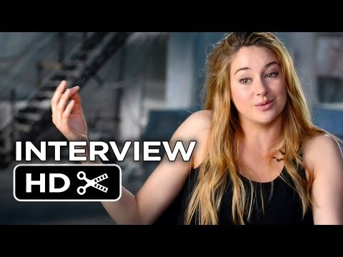 Divergent Interview - Shailene Woodley (2014) - Movie HD