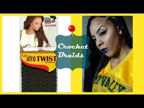 Individual Afro Twist Crochet Braids