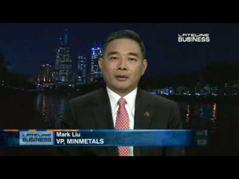 Chinese Minmetals VP discusses OZ Minerals deal - 18 Jun 09