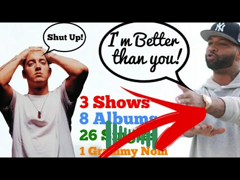Eminem vs Joe Budden: Who's Joe Budden? [WOW] *Decade*