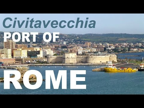 Civitavecchia Port of Rome, Cruise Port to Train Station, Bu