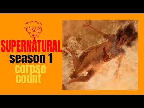 Supernatural Season One (2005) Carnage Count