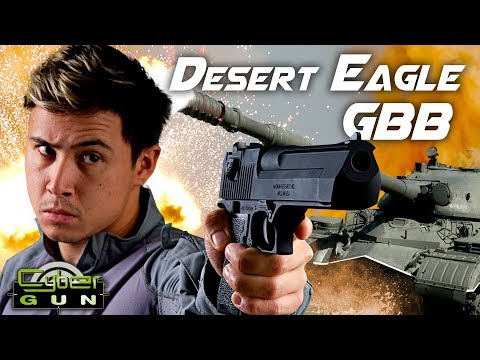 The Hand Cannon – Cybergun / WE Desert Eagle GBB Pistol – RedWolf Airsoft RWTV