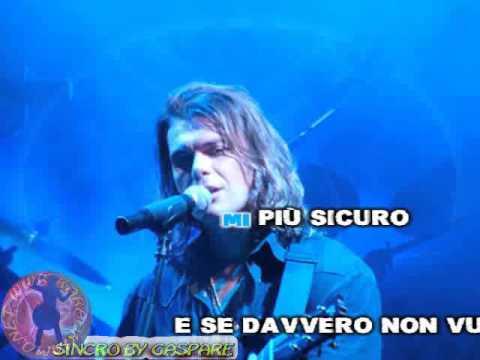 Gianluca Grignani - La mia storia tra le dita (karaoke fair use)